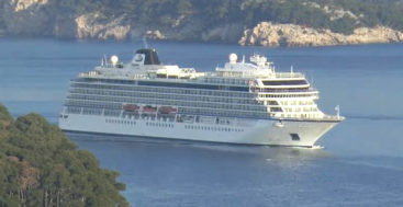 Dubrovnik Cruise Port – Welcome Viking Sea !